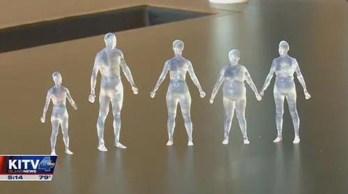 Shape Up! Study 3D printed figures on KITV4 news