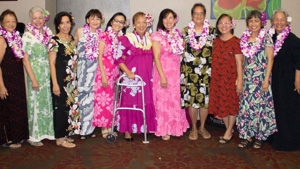 Wahine Hula Akala (Pink Ladies of Hula)