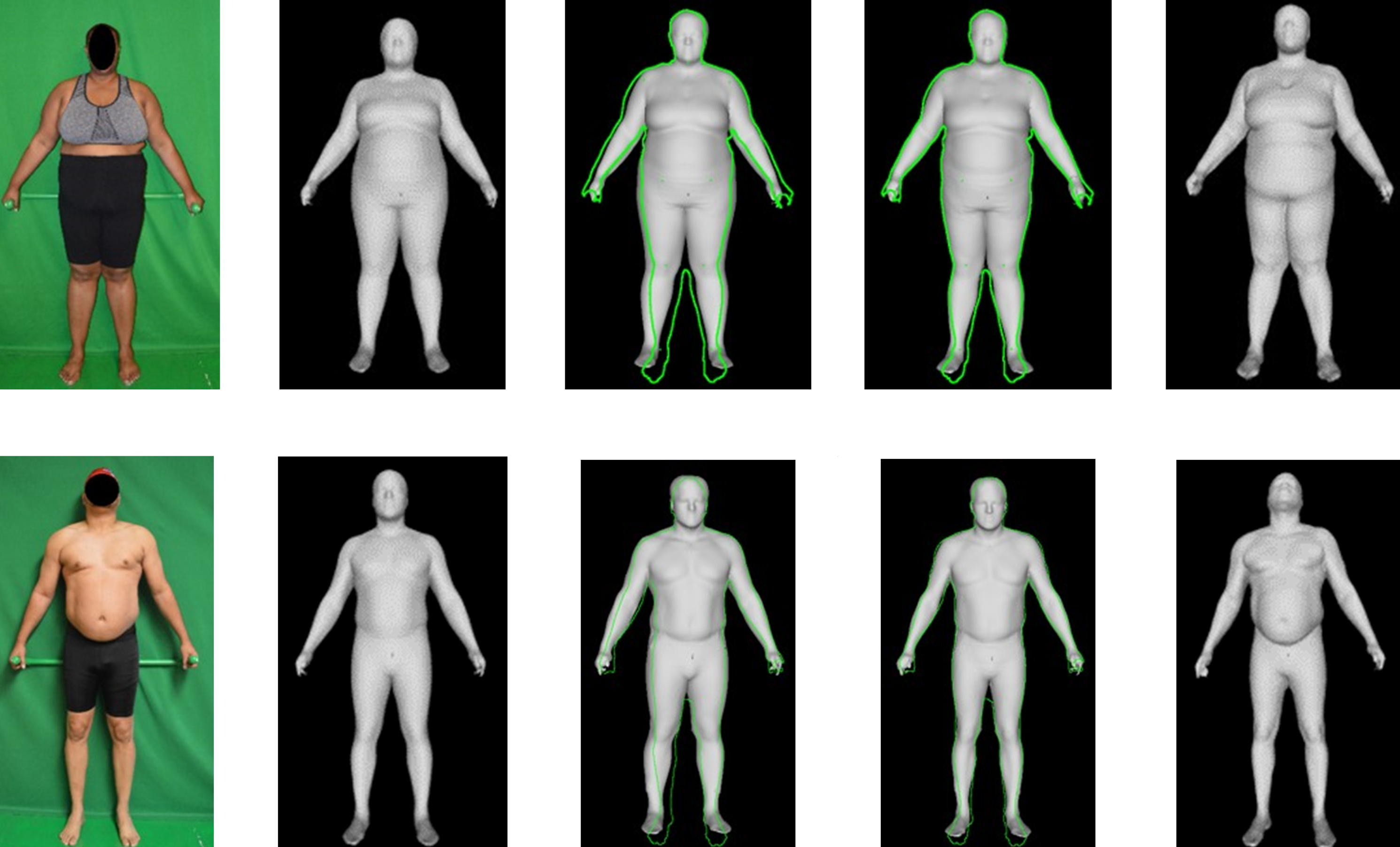 Predicting 3D body shape and body composition from conventional 2D photography